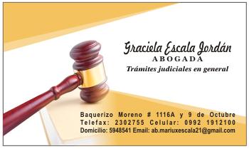 Tarjetas de presentación de abogados