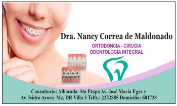 tarjetas de presentacion para medicos para odontologos