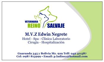 tarjeta personal para médico veterinario