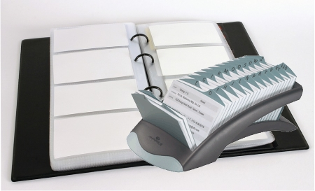 Tarjeteros para tarjetas de presentación