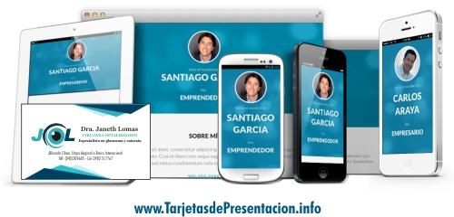 Tarjetas de Presentación Digitales