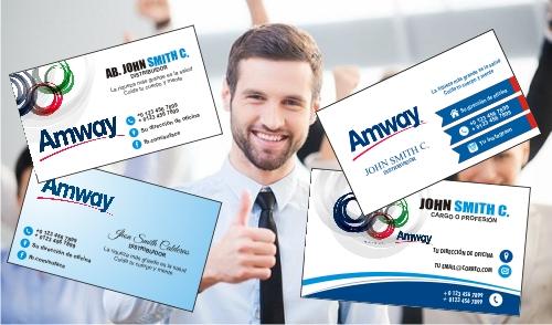 Tarjetas de Presentación de Amway