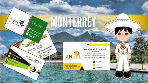 Tarjetas de Presentación Monterrey